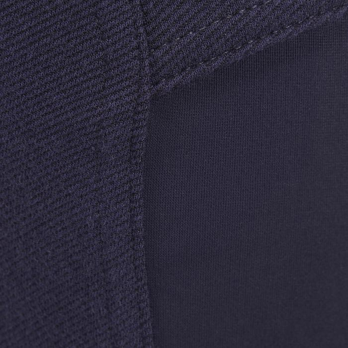 Pantalón de equitación hombre 140 badanas adherentes azul marino