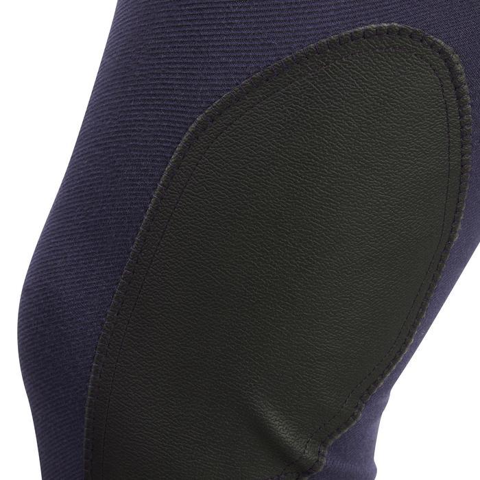 Rijbroek BR340 met antislip knie-inzetten voor heren blauw