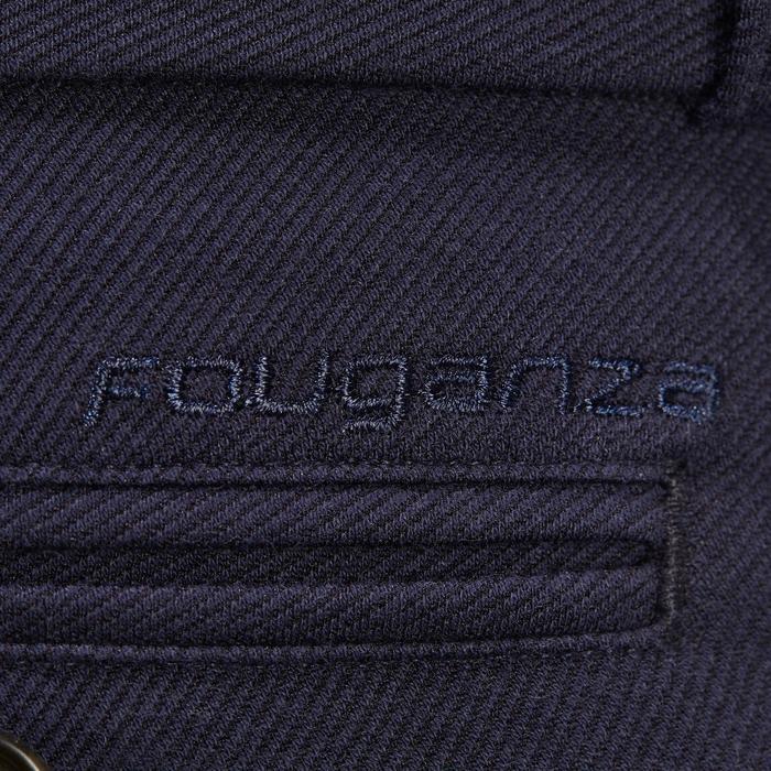 Reithose 340 Silikon-Kniebesatz Herren marineblau