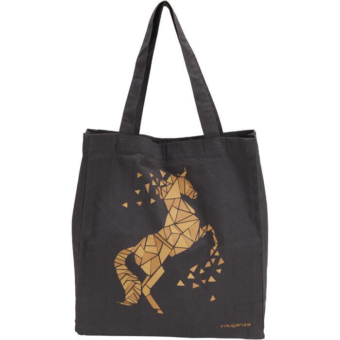 Sac de pansage équitation en coton - 1290417