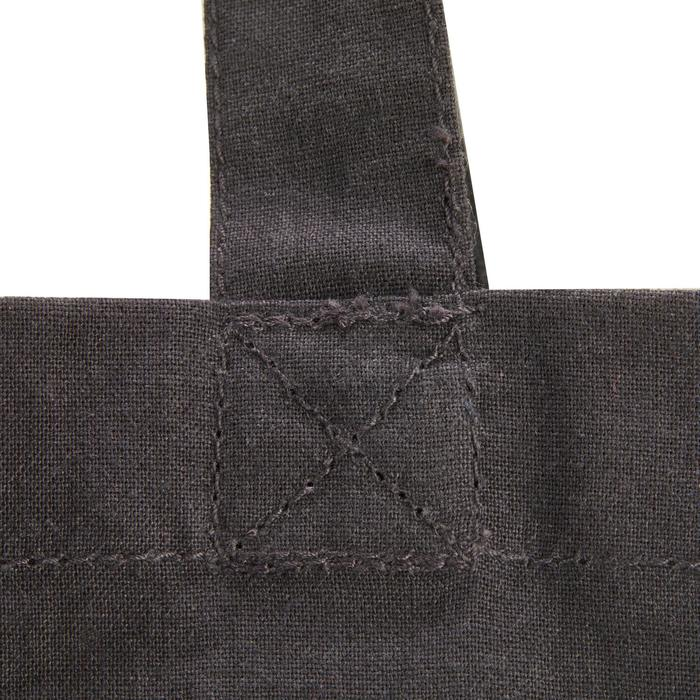 Putzzeugbeutel Baumwolle grau