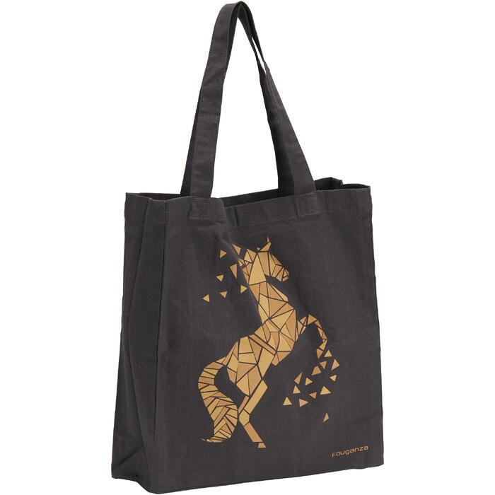 Sac de pansage équitation en coton - 1290422