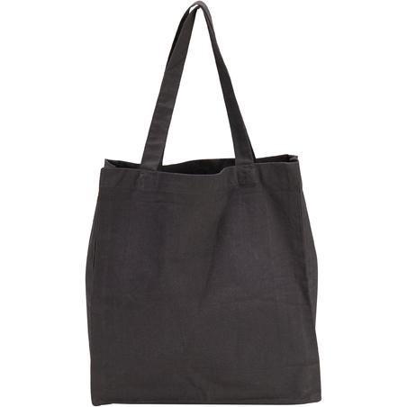 Jāšanas kopšanas piederumu soma, kokvilnas, pelēka