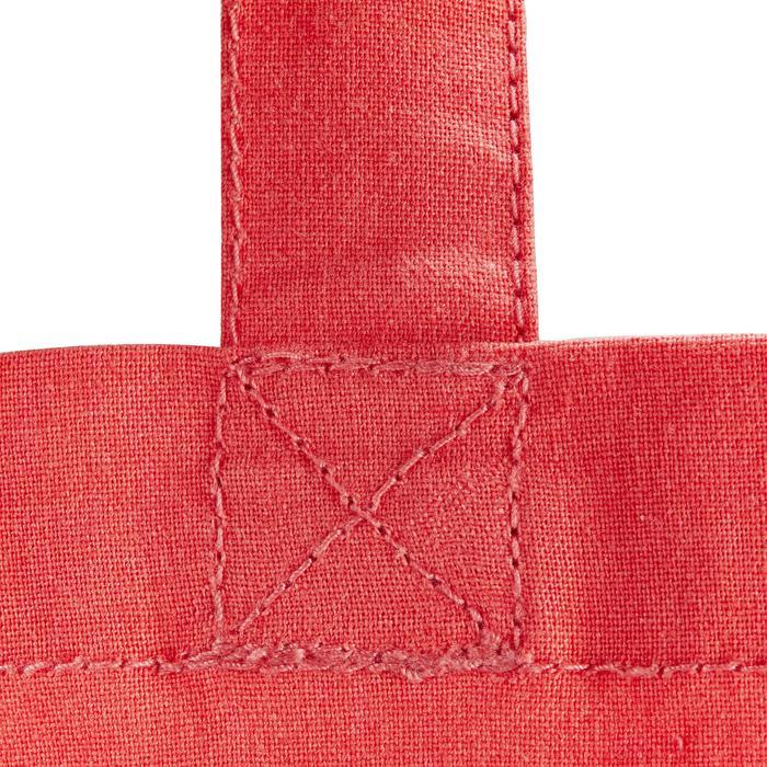 Sac de pansage équitation en coton rose