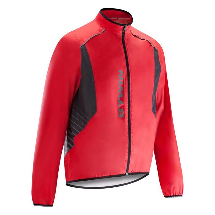 COUPE PLUIE VELO HOMME 500 FLUO SOFTLIME - 1290493