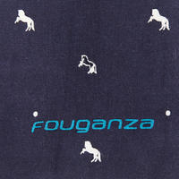 Horseback Riding Cotton Grooming Bag - Navy