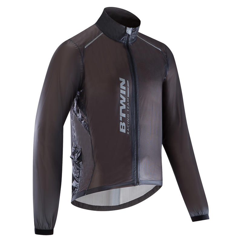 100% authentic select for newest variety design Ultralight Sport Road Cycling Rain Jacket - Black