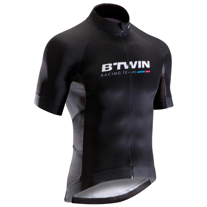RoadRacing 500 Short-Sleeved Cycling Jersey - Black