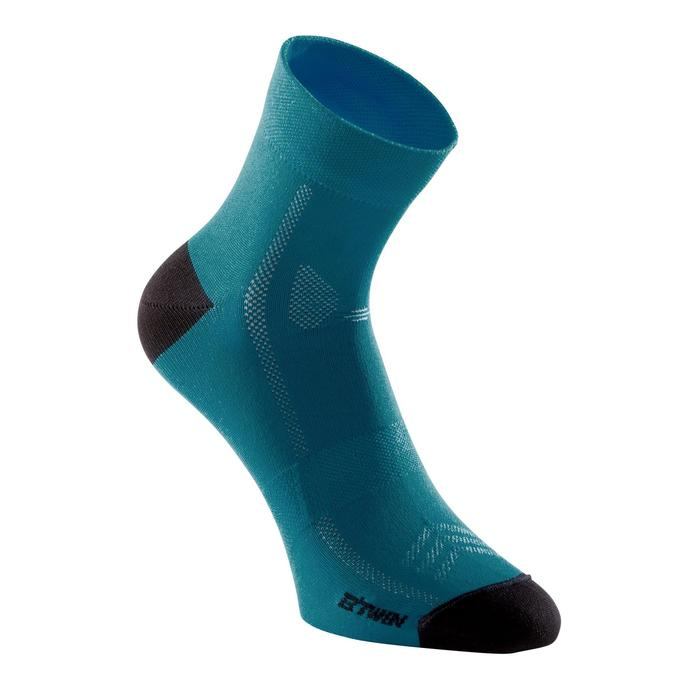 Calcetines ciclismo ROADR 500 azul Prusia