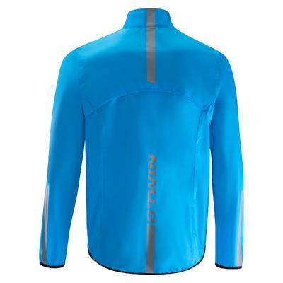 Impermeable ciclismo hombre 300 azul