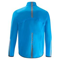 IMPERMEABLE CICLISMO HOMBRE RC 100 AZUL
