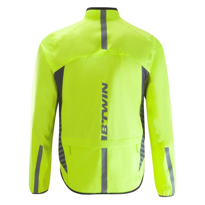 COUPE PLUIE VELO HOMME 500 FLUO SOFTLIME - 1290508