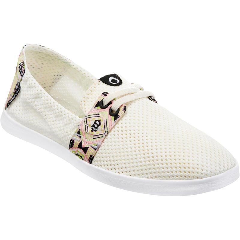 Strandschoenen voor dames Areeta Longi wit