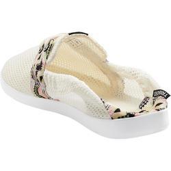 Zapatillas Playa Surf Olaian Mujer Tela Cerradas Blanco