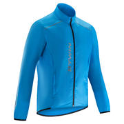 Modra kolesarska vodoodporna jakna 100