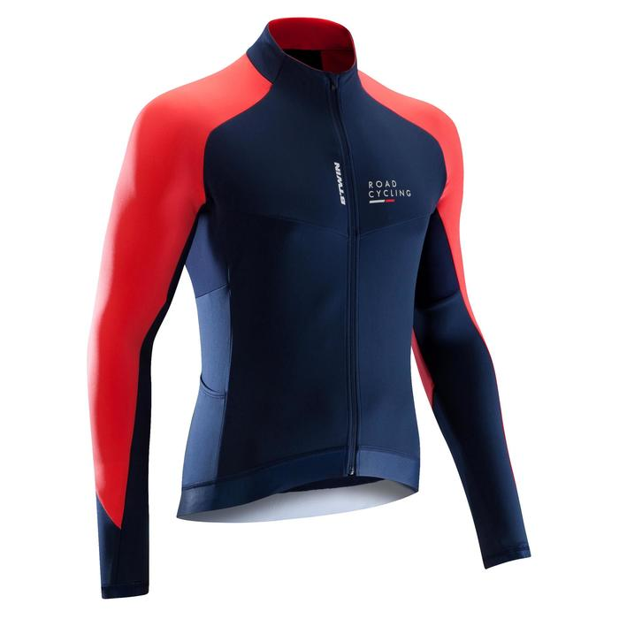MAILLOT VELO ROUTE MANCHES LONGUES HOMME CYCLOTOURISTE 9000 - 1290551