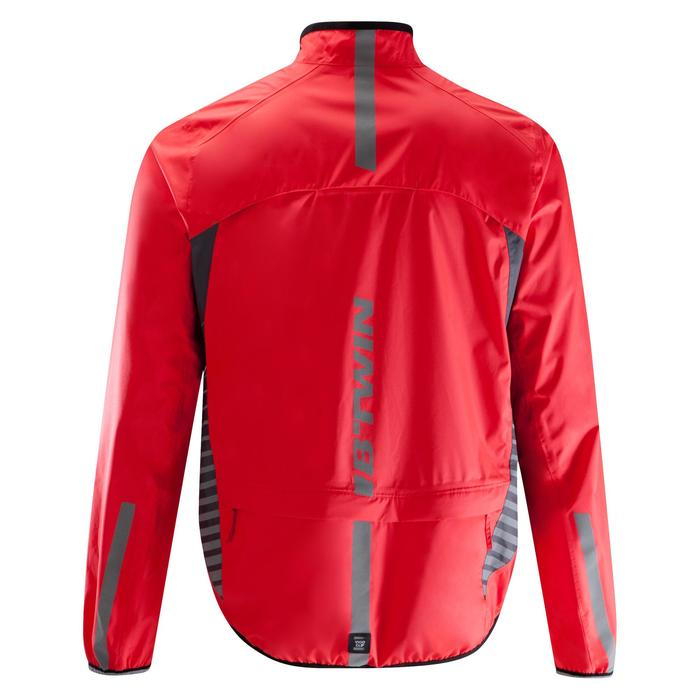 COUPE PLUIE VELO HOMME 500 FLUO SOFTLIME - 1290552