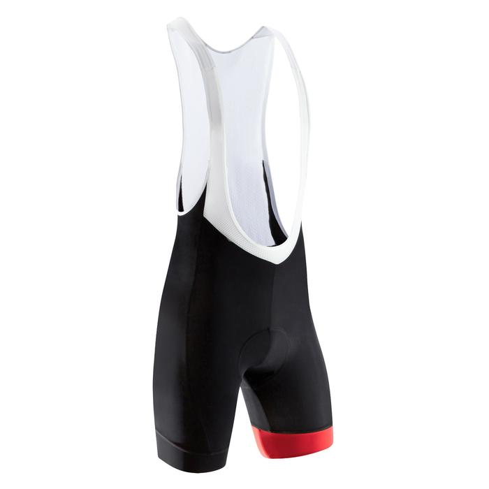 CUISSARD VELO ROUTE HOMME ROADCYCLING 500 NOIR / ROUGE