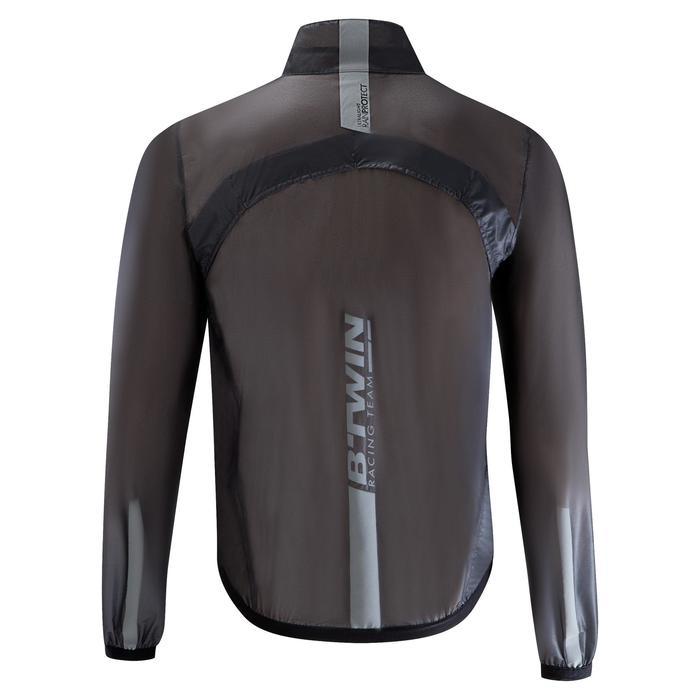 Wielren regenjas RR900 ultralight voor heren zwart