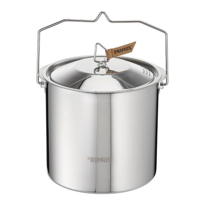 Kookpan voor trekking Campfire Pot rvs 5 liter