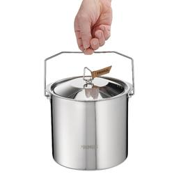 Faitout camp du randonneur Campfire Pot inox 5 litre