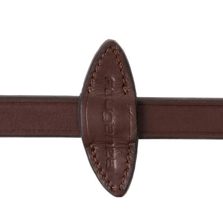 Riendas equitación fouganza 580 caballo marrón