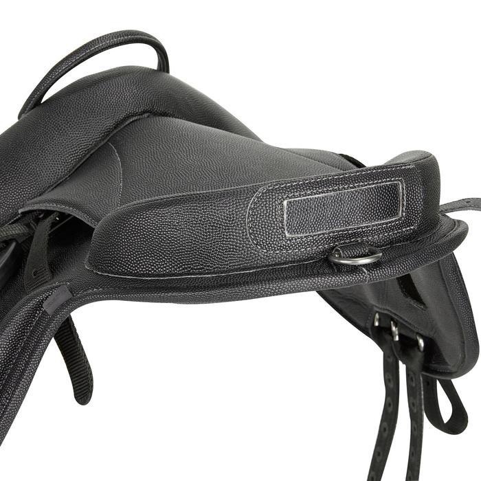 Bardette equitación poni materia sintética 100 negro