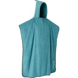 PONCHO SURF ADULTE 500 Vert