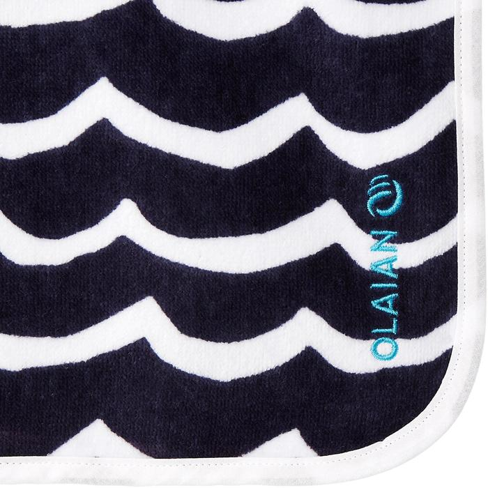 Kinderponcho Pon Petit Wave marineblauw - 1290698