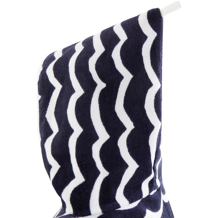 Kinderponcho Pon Petit Wave marineblauw - 1290701