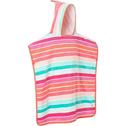 LARGE CHILDREN'S PON PONCHO - Striped