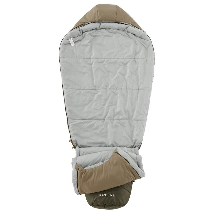 Sac de couchage de trekking TREK500 0° light kaki