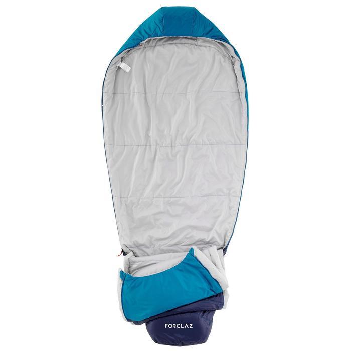 Saco de dormir de trekking TREK500 10° light azul