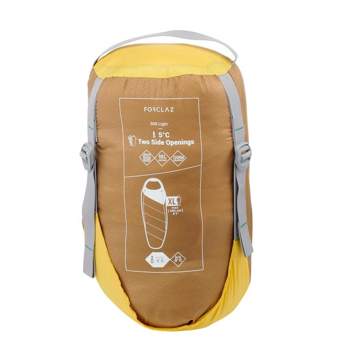 Sac de couchage de trek 500 5° light jaune