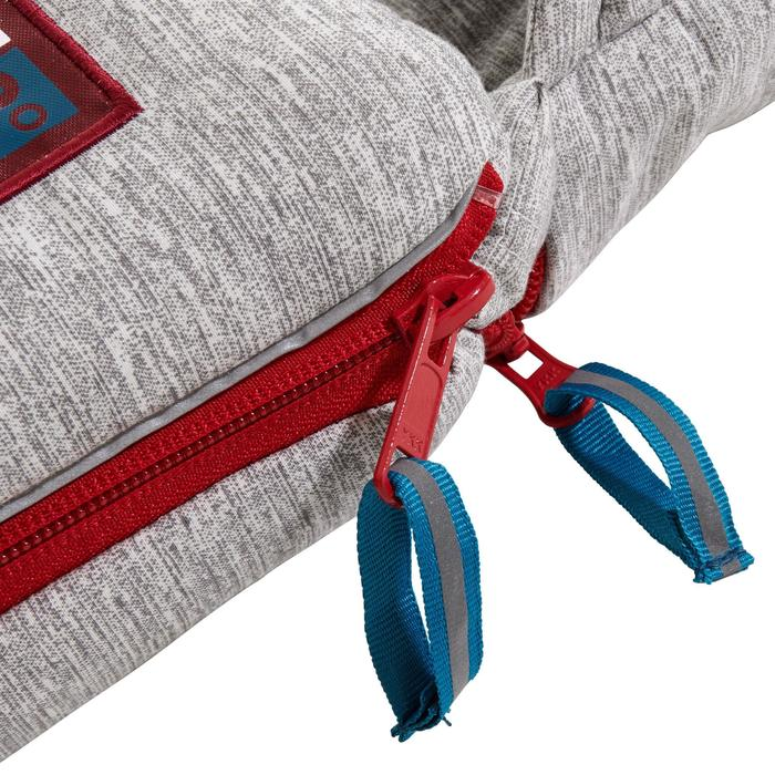 Schlafsack Arpenaz 0 °C Camping rot