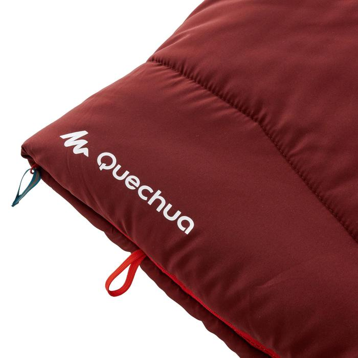 COTTON SLEEPING BAG FOR CAMPING - ARPENAZ 0° COTTON