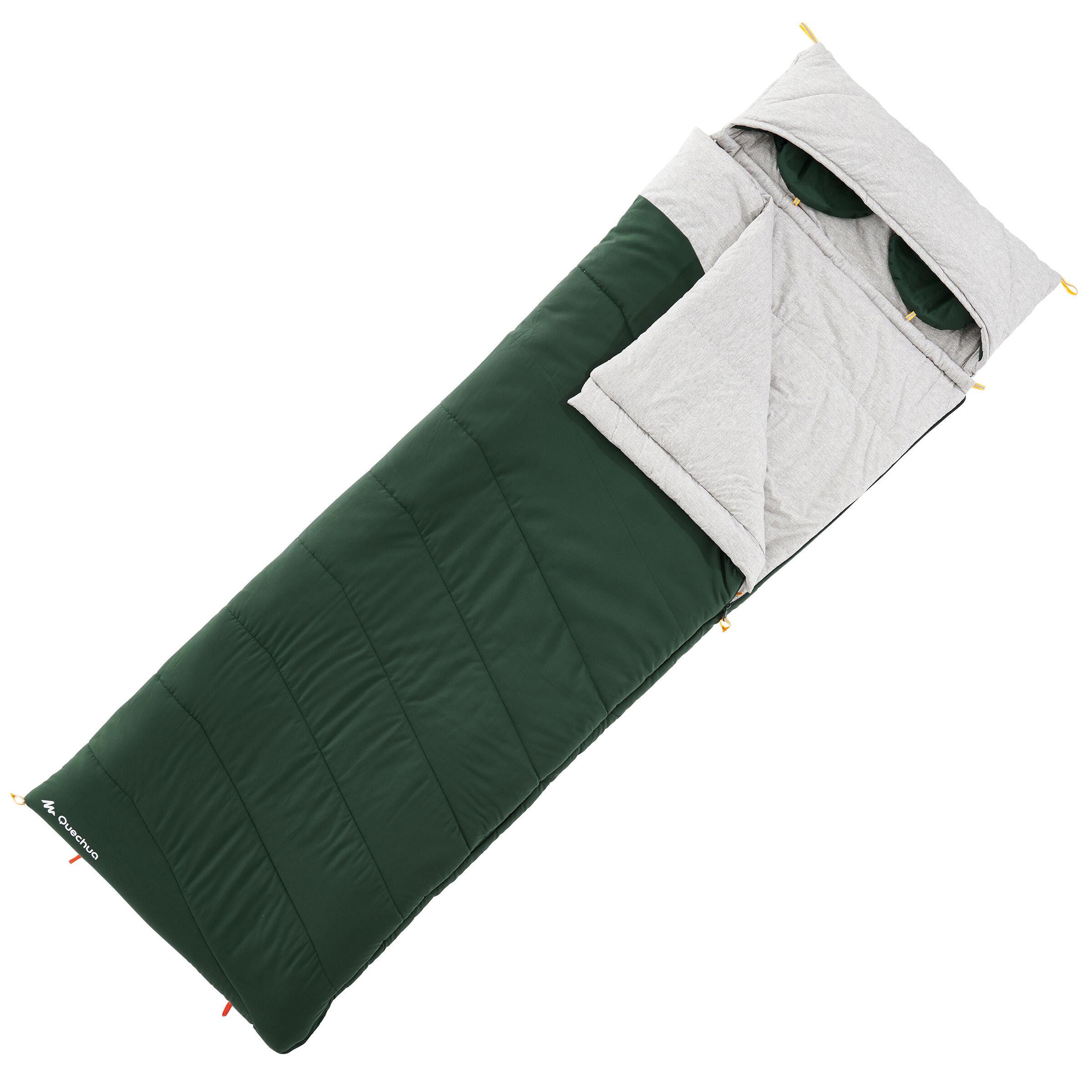 Sac de dormit Arpenaz 0° Verde