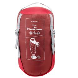 Sac de couchage de trekking TREK500 5° light rose