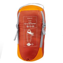 Trekkingschlafsack Trek 500 0 °C Light orange