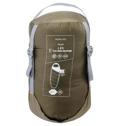 Trek 500 10° Trekking Sleeping Bag - Light Khaki