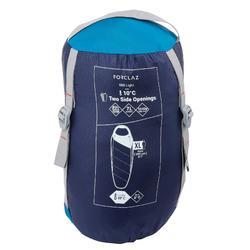 Trekkingschlafsack Trek 500 10° Light blau