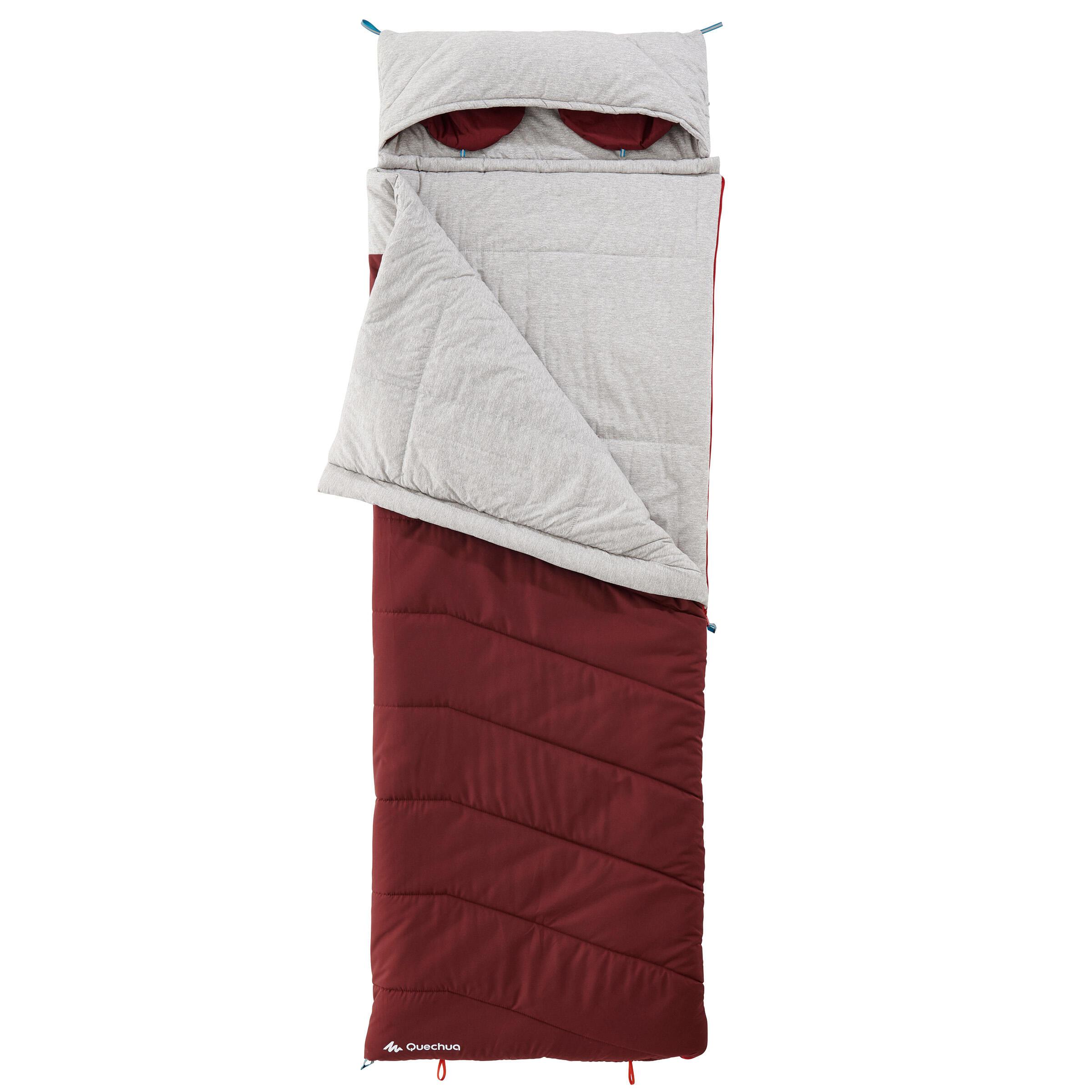 Sac de dormit Arpenaz 0° Roșu