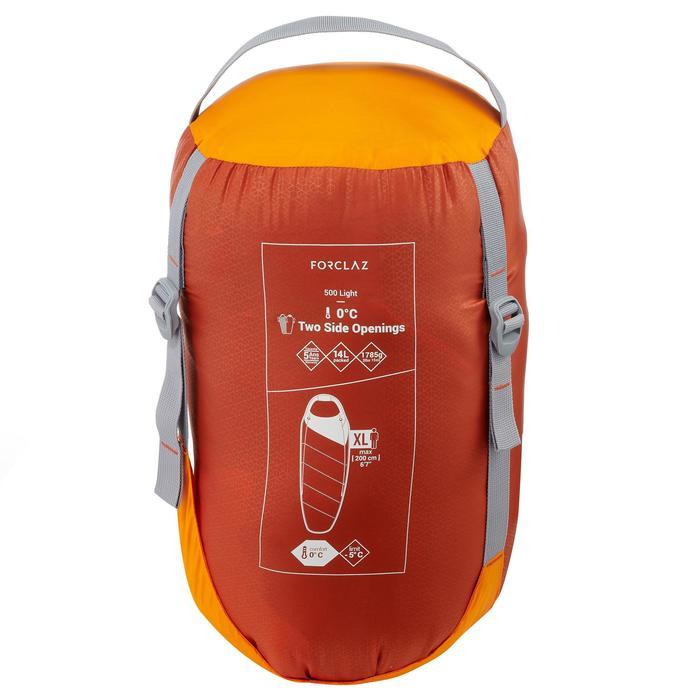 Trekkingslaapzak Forclaz 0/5° Ultralight - 1290885