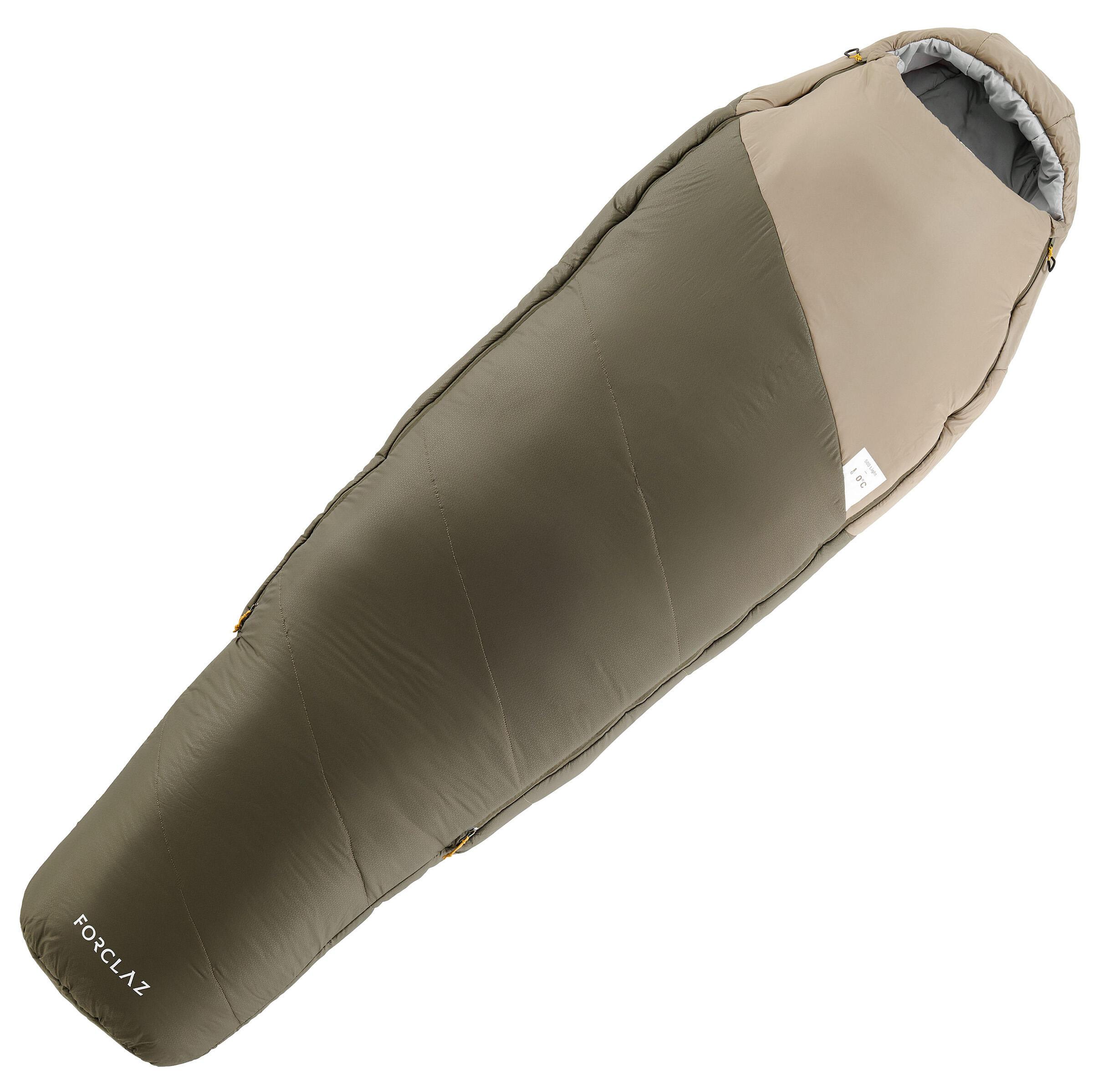 Trekking sleeping bag 500 0° light k