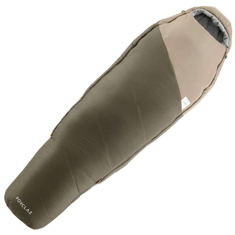 SLEEPING BAG, MATTRESSES SHEETS ACC TREK - Trek 500 0° Sleeping Bag FORCLAZ