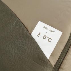 Trek 500 10° Trekking Sleeping Bag - Light Khaki