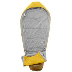 Saco de dormir de trekking TREK500 5° light amarillo