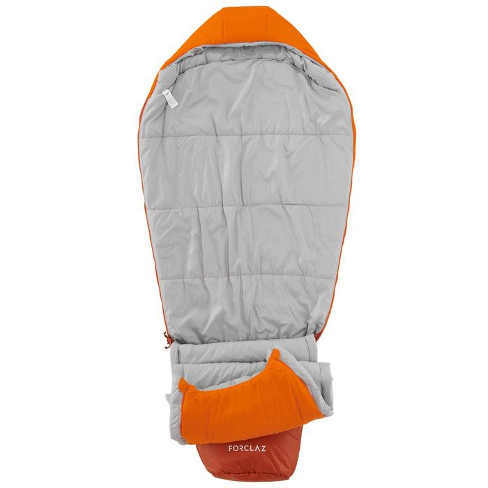 Saco de dormir de trekking TREK500 0° light naranja