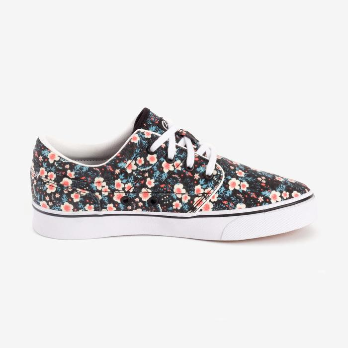 Chaussures basses skateboard-longboard adulte VULCA CANVAS L allover pois - 1290955