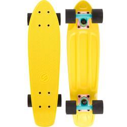 Cruiser skateboard Yamba geel roze